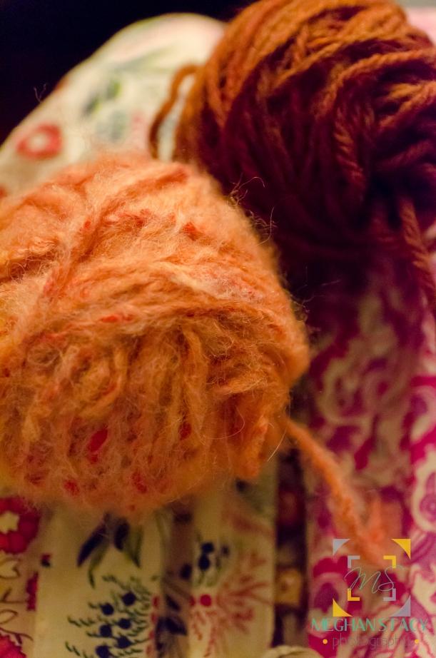 yarn dying, gun 046