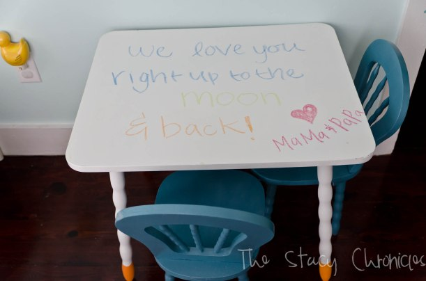 Child's table and chairs 007