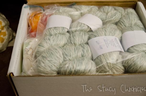 Handspun yarn 003