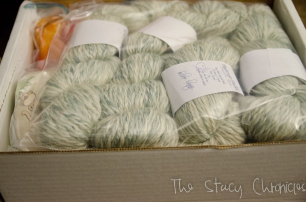 Handspun yarn 004