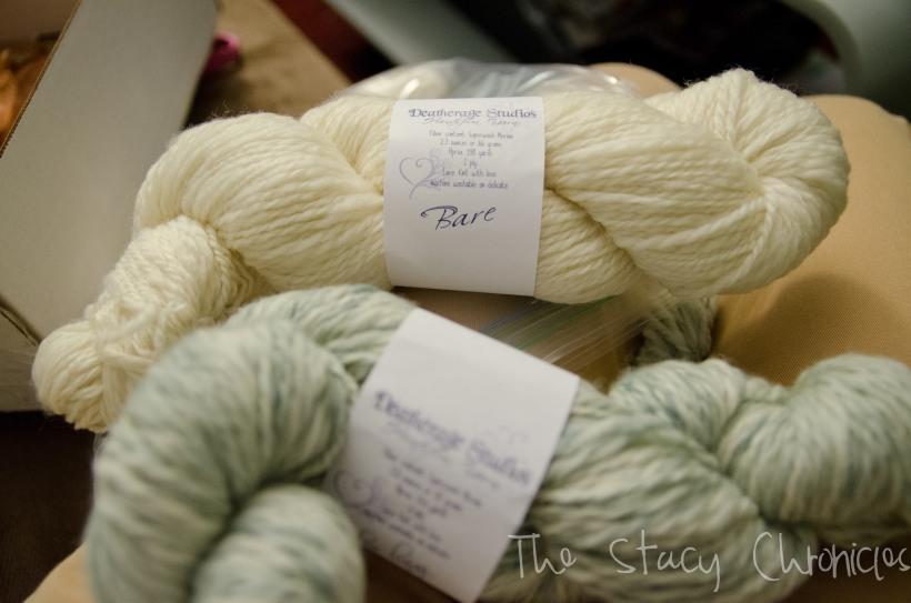 Handspun yarn 009