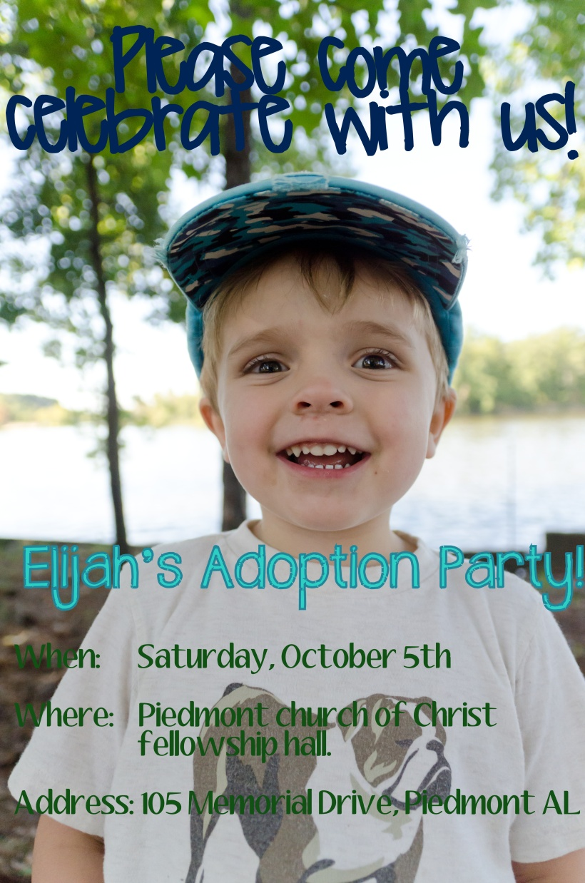 Adoption flyer