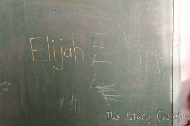 Chalkboard and baby 003